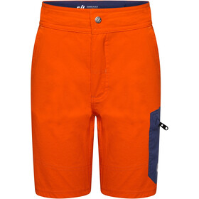 Dare 2b Reprise Shorts Niños, blaze orange/dark denim